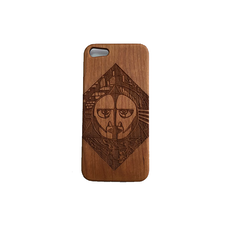 Pink Floyd Natural Wood Iphone 5/5S Case