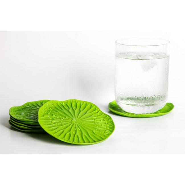 Baibua Coaster - Green (Set of 2) - 1