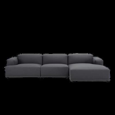 Flex 4 Seater L Shape Sofa - Dim Grey - Image 2
