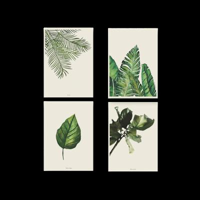 Tropical Art Print Set on Paper (2 Sizes) - Image 1