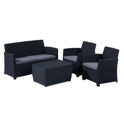 Corona Lounge Set - Graphite  - Image 1