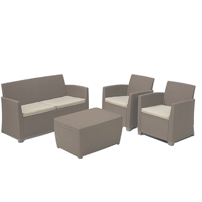 Corona Lounge Set - Cappuccino  - Image 1