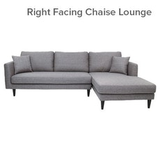 Los Angeles L-Shape Sofa - Grey