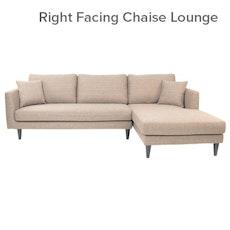 Los Angeles L-Shape Sofa - Light Brown