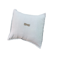 Little Tie Cushion - Dove Grey