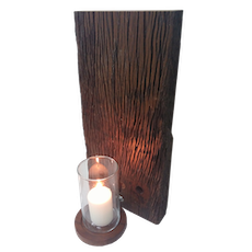 Wall Hang Candle With Glass Insert