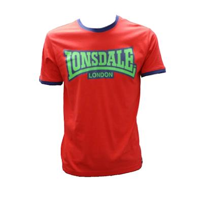 Mens Tshirt - Official Red w/ Green Logo