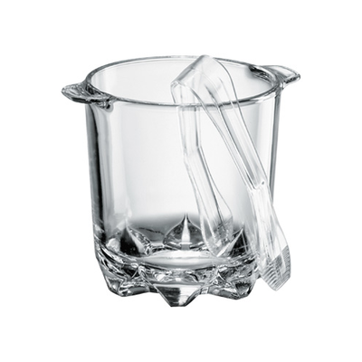 Polka Ice Bucket with Tongs