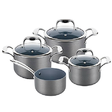 Lamart Hard Anodised Cookware Set
