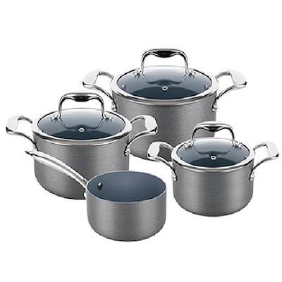 Lamart Hard Anodised Cookware Set - Image 1