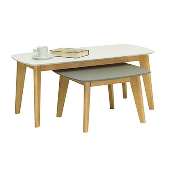 Malmo - Kyra High Coffee Table - White