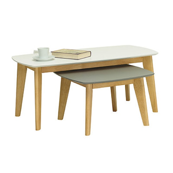 Malmo - Kyra High Coffee Table - White