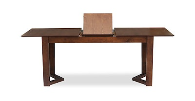 Meera 6 Seater Extension Table - Cocoa