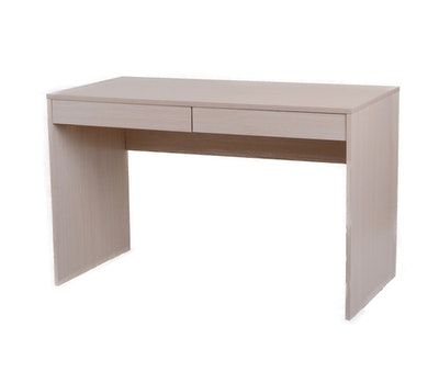 (As-Is) KOJA Desk with Drawers - Oak - 1