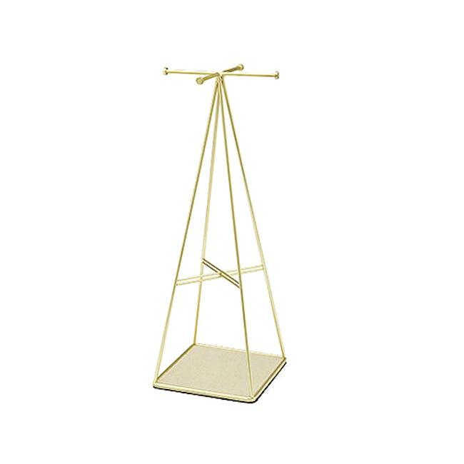 Prisma Jewelry Stand - Brass - 0