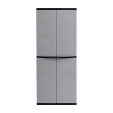 Optimus Large Wardrobe - Grey