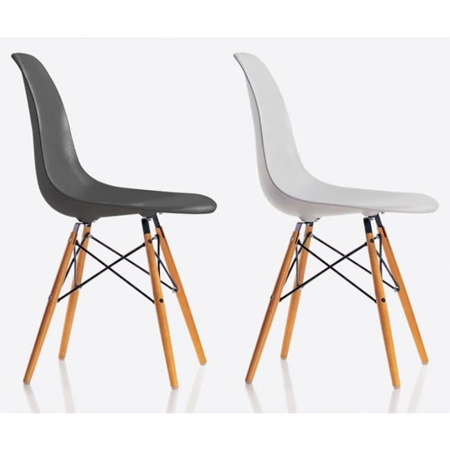 DSW Chair Replica - Natural, White - 1