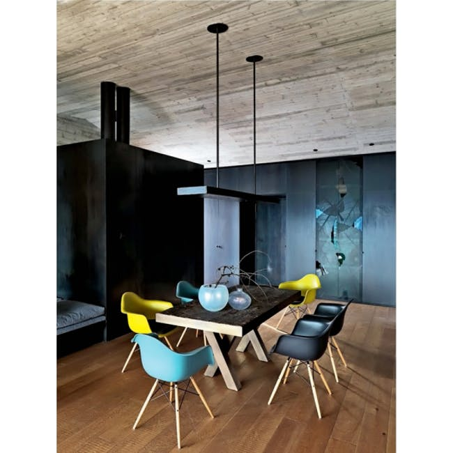 DAW Chair - Natural, White - 5