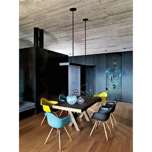 DAW Chair Replica - Natural, Black - 6