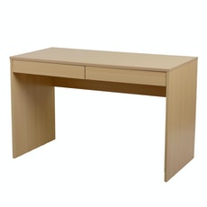(As-Is) KOJA Desk with Drawers - Birch - 2
