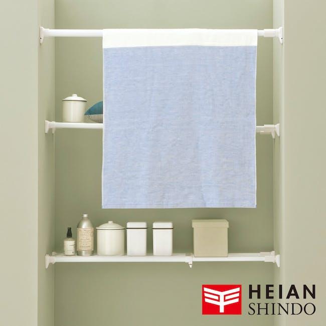 HEIAN DIY Extension Shelf - 73cm to 112cm - 5