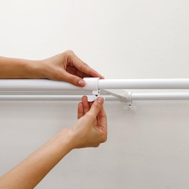 HEIAN DIY Extension Shelf - 73cm to 112cm - 3