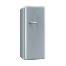 FAB28 Smeg 50s Retro Fridge - Silver