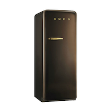 FAB28 Smeg 50s Retro Fridge - Chocolate