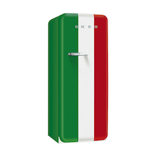 FAB28 Smeg 50s Retro Fridge - Tri-Colour