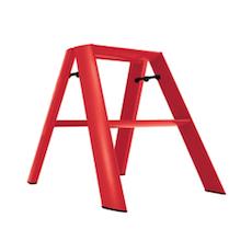 Hasegawa 2 Step Aluminium Ladder – Red