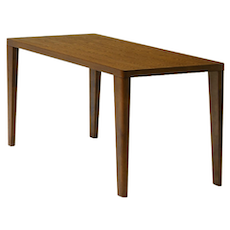 (As-Is) Harvey Dining Table - Cocoa - 6 Seater