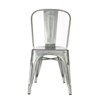 Tolix Chair - Industrial Silver