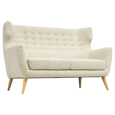 Kanion 2 Seater Sofa - Almond - Image 1
