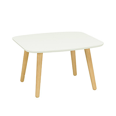 Banji Low Coffee Table - White