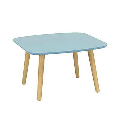 Banji Low Coffee Table - Dust Blue - Image 1