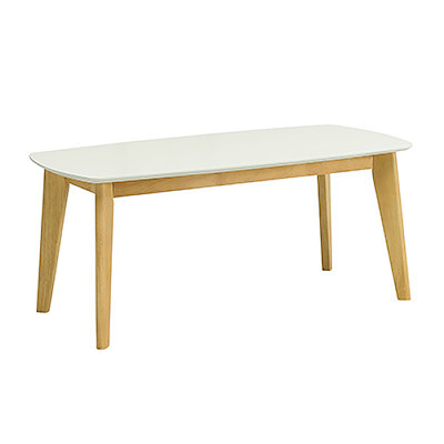 (As-is) Kyra High Coffee Table - White - 4 - Image 1