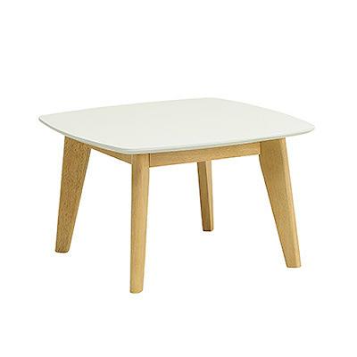 Kierra Low Coffee Table - White - Image 1