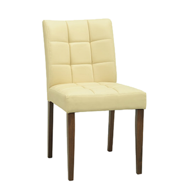 (As-is) Davin Dining Chair - Cocoa, Cream - 1 - Image 1