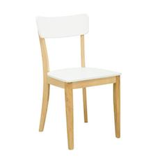 Copenhagen Dining Chair - Natural, White (Set of 2)