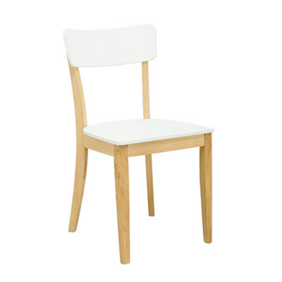 (As-Is) Darcy Dining Chair - Natural, White - 1