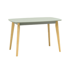 (As-Is) New York Dining Table - Natural, Grey - 1