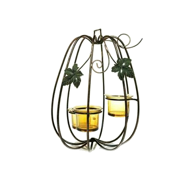 Elegant Pumpkin - Tea Light Holder (Multi)