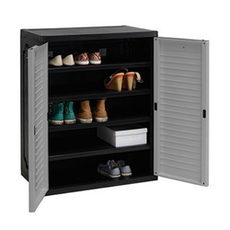 Optimus Shoe Cabinet - Grey