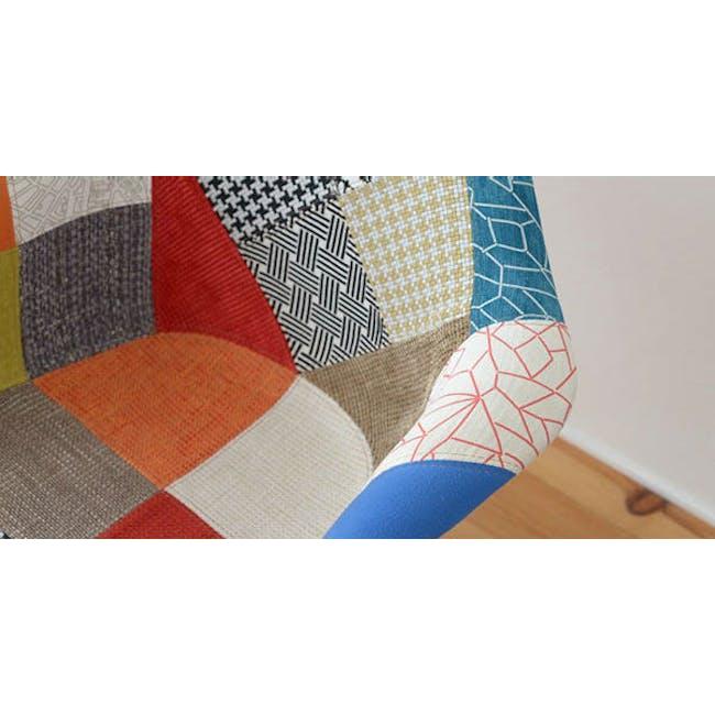 DAW Chair Replica - Natural, Patchwork - 2
