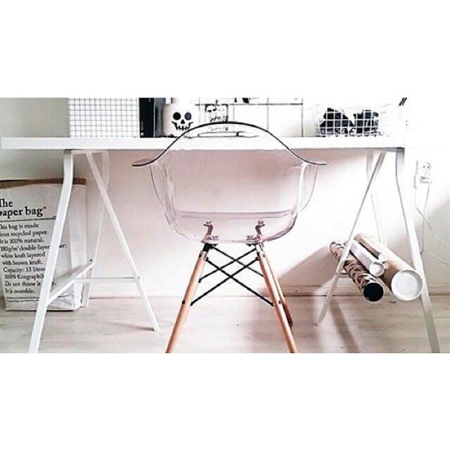 DAW Chair Replica - Natural, Clear - 9