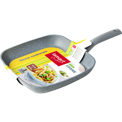 Lamart Marble Stone Grill Fry Pan