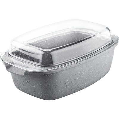 Lamart Marble Stone Roaster with Lid - Image 2