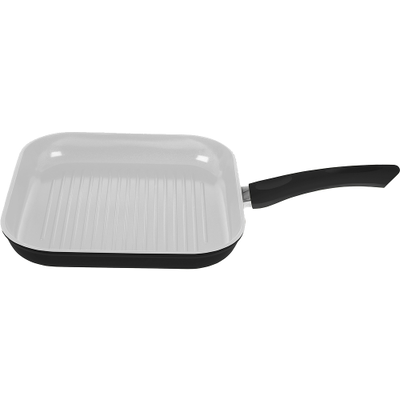 Lamart Ceramic Grill Pan - Black - Image 2