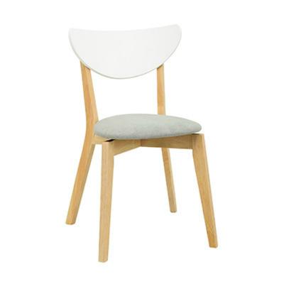 Naida Dining Chair - Natural, Grey (For Dining Set)