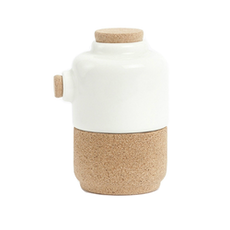 Sugar Pot/Creamer - Pearl